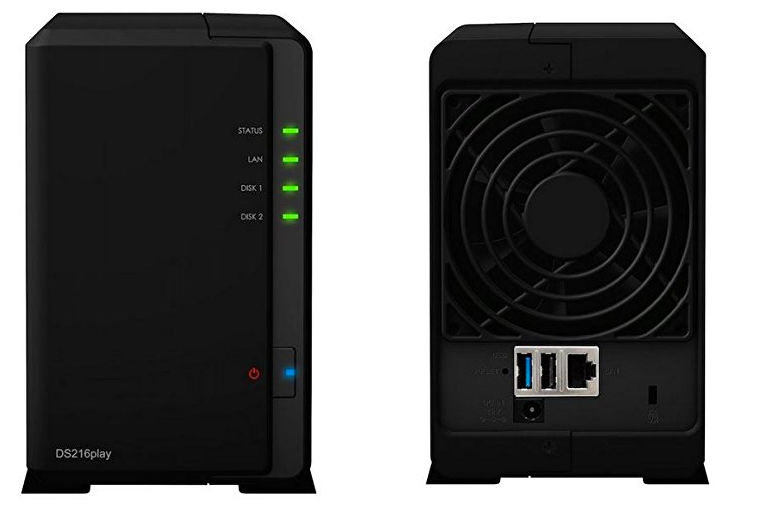 Synology DiskStation DS216play NAS