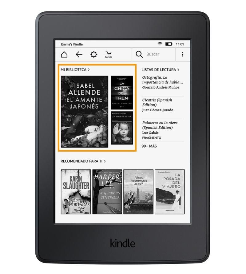 Novedades del nuevo firmware para el eReader Kindle