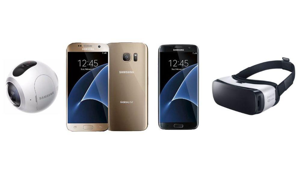 Samsung Galaxy S7 y S7 edge en preventa (y te regalan las gafas Samsung Gear VR)