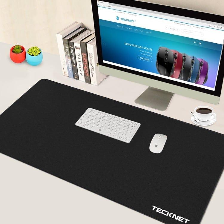 TeckNet XLL Alfombrilla de Ratón con una dimensiones de 900x450x3mm