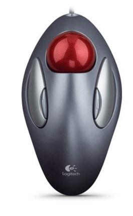 Logitech 910-000808 - Raton óptico, gris y rojo