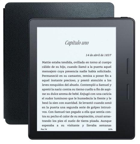 eReader Kindle Oasis reviews: opinión y análisis de este lector de ebooks