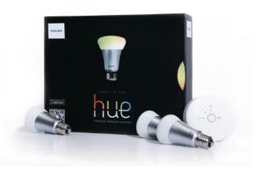 Philips Hue - Kit de inicio, 9 W, A60, E27 [Clase de eficiencia energética A+]