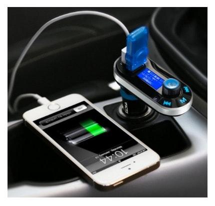 VicTsing Bluetooth FM Transmisor Manos Libres para coches