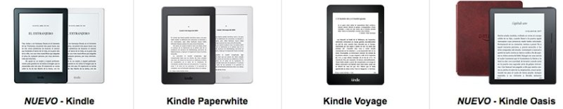 eReaders Kindle Amazon España 2016