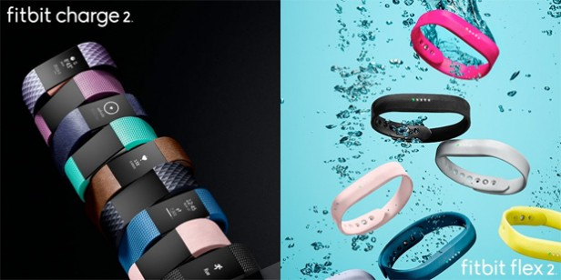 Fitbit Charge 2 y Flex 2