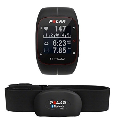 Polar M400 HR - Reloj de entrenamiento con GPS integrado