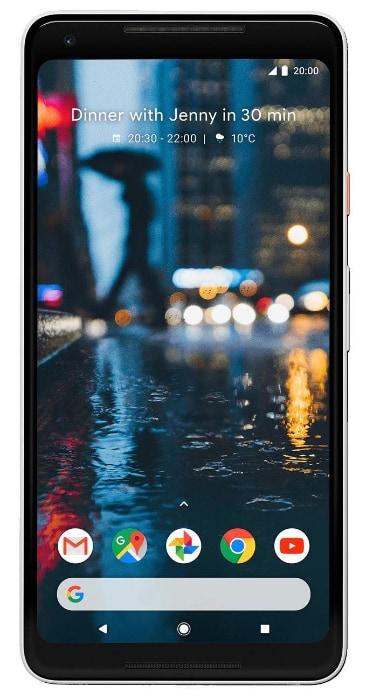 Google Pixel 2 XL yGoogle Pixel 2