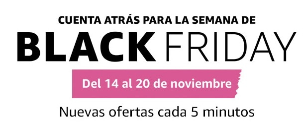 Cuanta atras Black Friday 2016 en Amazon España