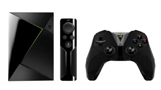Nvidia Shield TV - Android TV Box & gaming (resolución 4K HDR, memoria interna de 16 GB, 3 GB de RAM, Android 7.0)