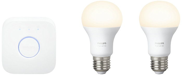 Philips Hue White - Set de inicio 2 bombillas LED E27