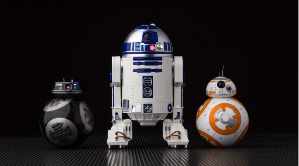 Star Wars BB-9E y R2-D2 de Sphero