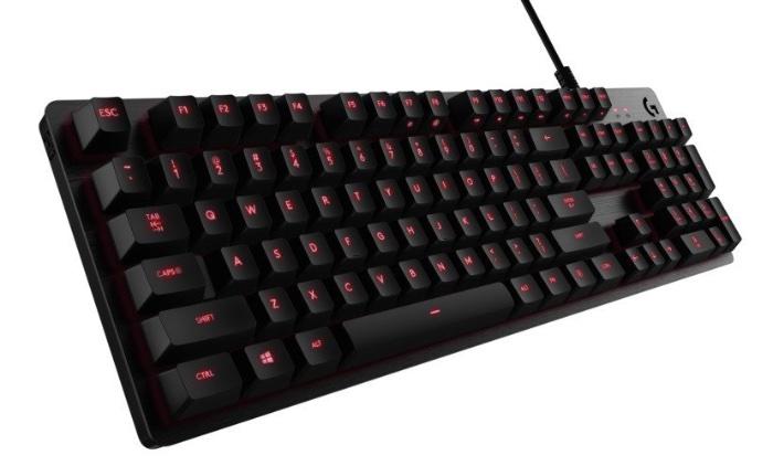 Logitech G413 - Teclado mecánico para gaming Carbon - Distribución Español
