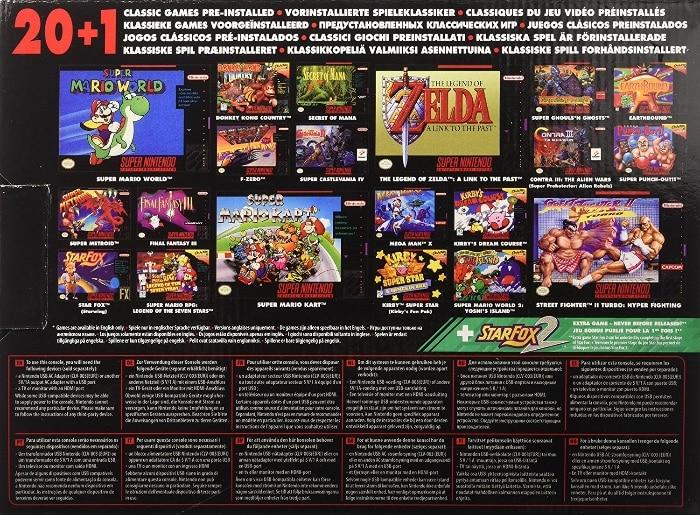 videojuegos SNES Classic Mini
