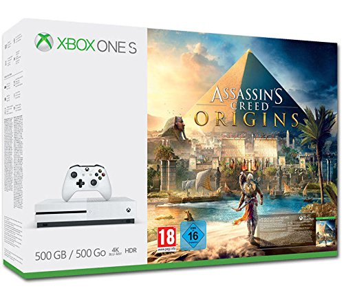 Xbox One - Consola S 500 GB + Assassin's Creed Origins