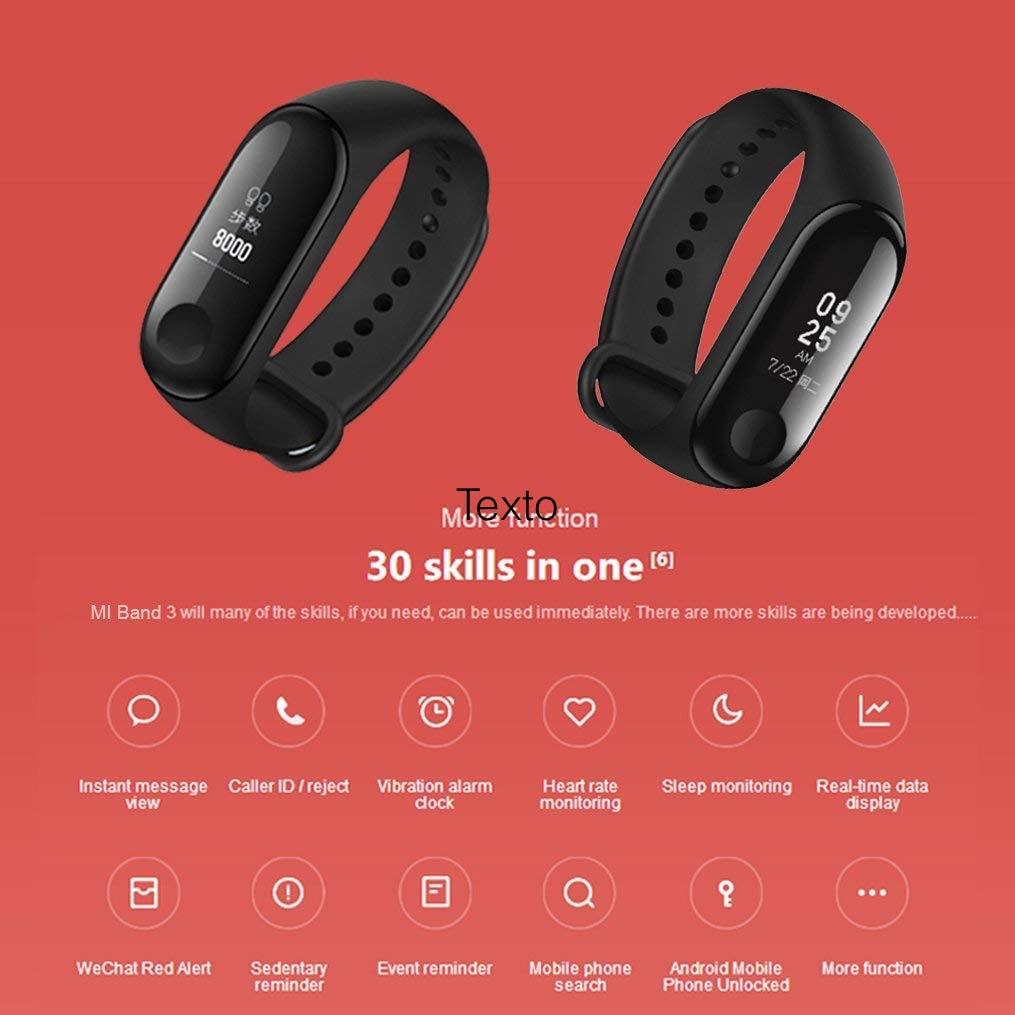Xiaomi Mi Band 3 - Pulsera de actividad