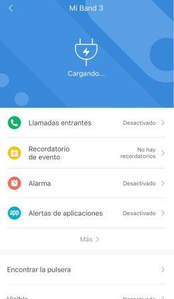 Xiaomi mi Band 3 instrucciones configuración 8