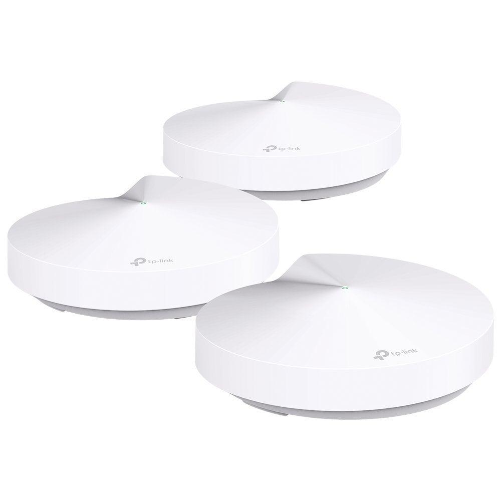 Los mejores routers WIFI Mesh: TP-Link Deco M5 - Paquete de 3 Sistema WiFi de Red Mesh (AC1300 Banda Dual)