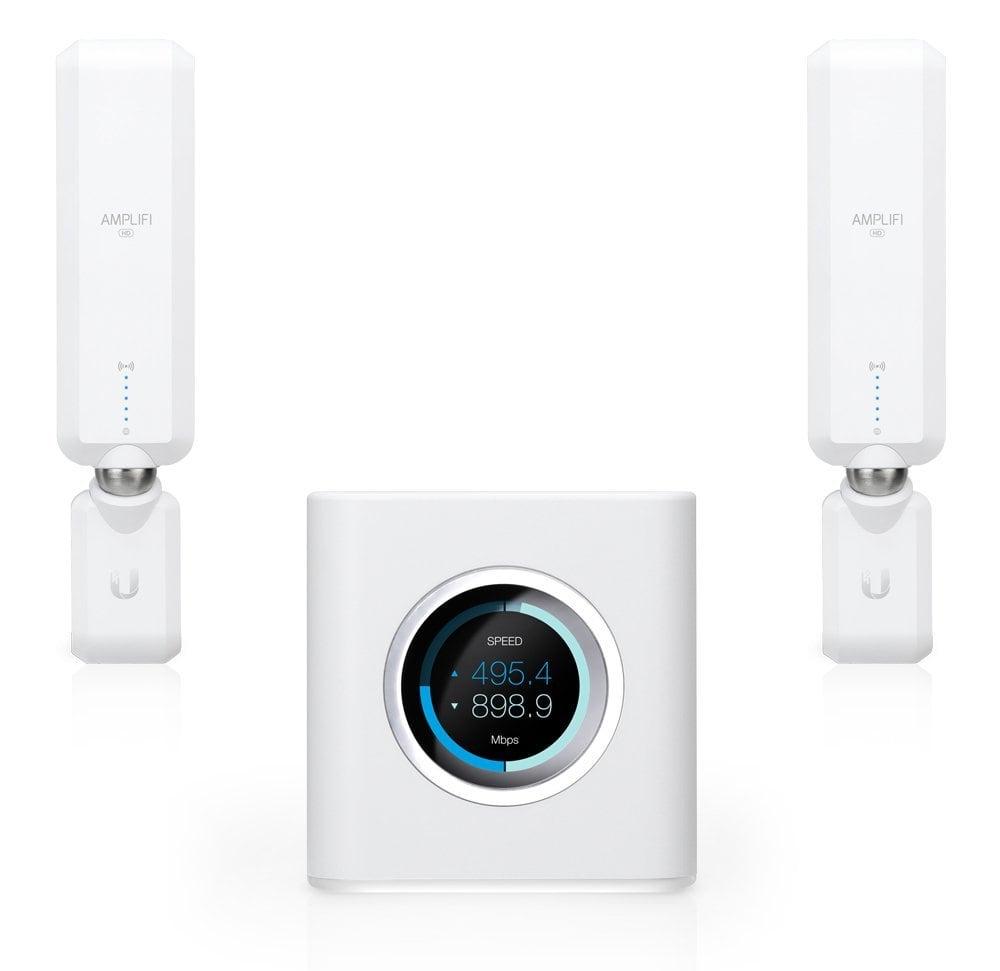 Ubiquiti Amplifi Home Wi-Fi Mesh –conmutador de 4puertos–GigE–802.11abgnac–Banda Dual (AFI de HD)