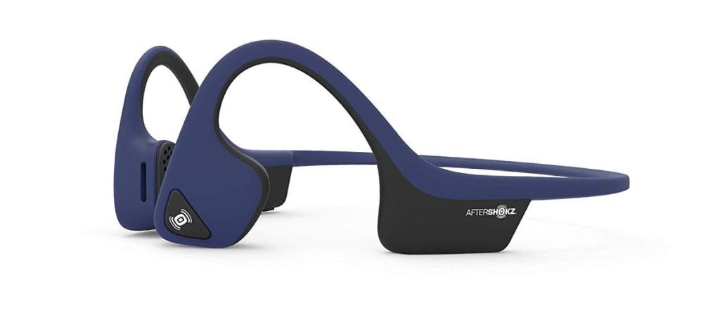 Aftershokz Trekz Air, Auriculares Bluetooth inalámbricos para deporte