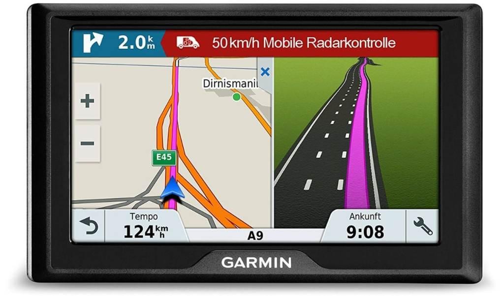 """Garmin Drive 51 Full EU LMT-S - Navegador GPS con mapas de por Vida (Pantalla de 5"""", Mapa Europa Completo)"""