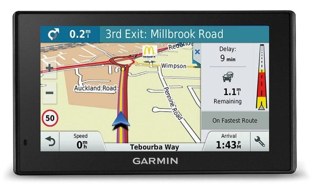 Garmin DriveSmart 51 Western EU LMT-S - Navegador GPS con mapas de por Vida y tráfico vía móvil