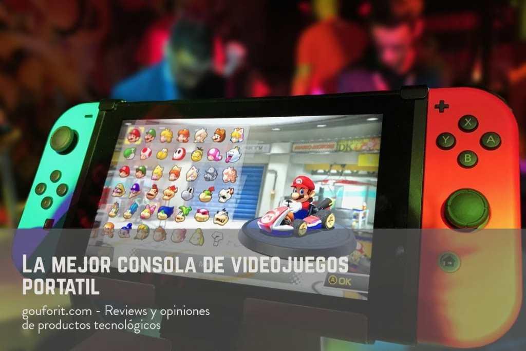 ¿Cuál es la mejor consola de videojuegos portátil? Nintendo Switch
