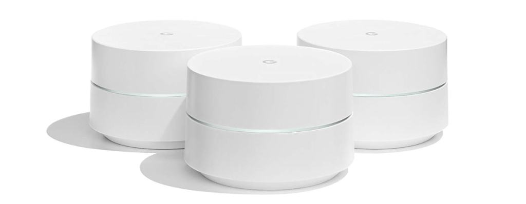 Los mejores routers WIFI Mesh: Google Wifi - Router inalámbrico (3 Pack)