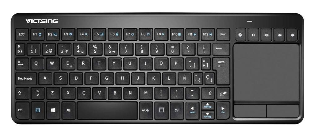 Un buen mando inalámbrico con teclado