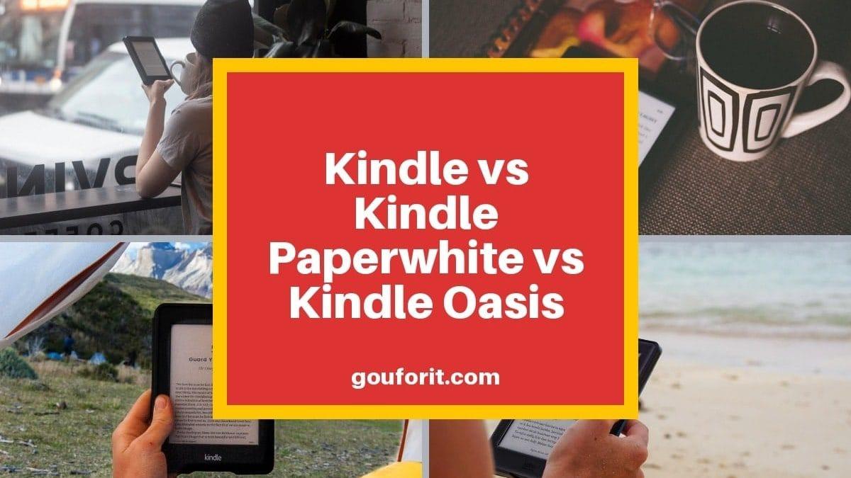 Qué eReader Kindle de Amazon debería de comprar en 2019