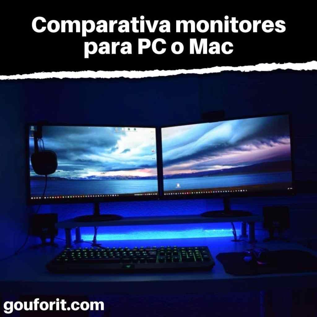 Guía para comprar los mejores monitores para PC: Comparativa monitores para PC o Mac
