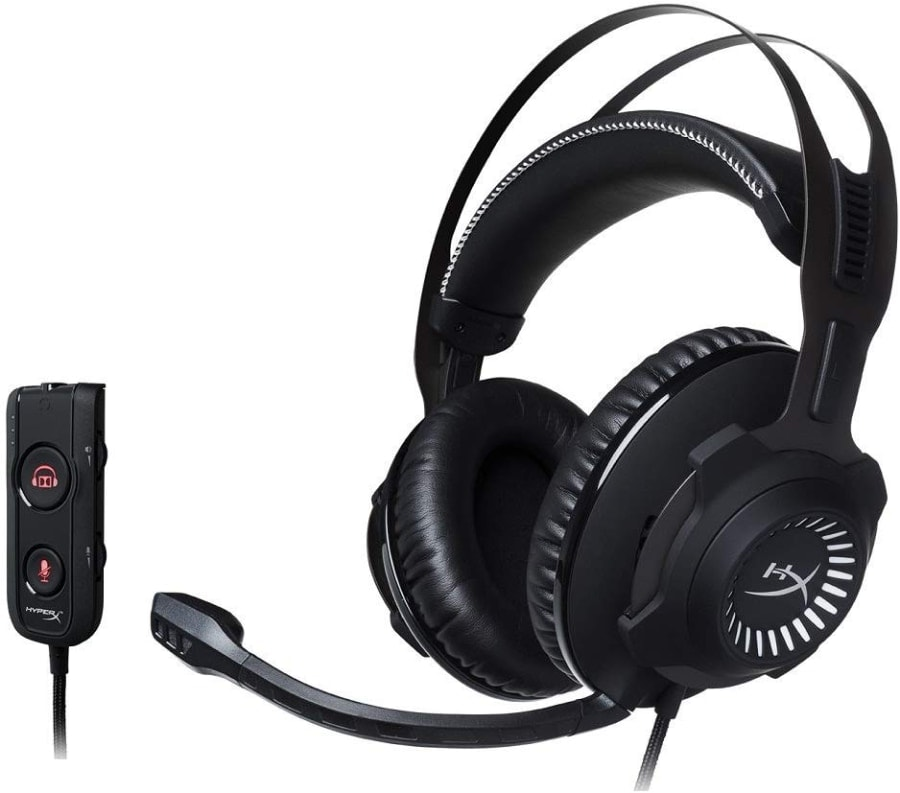 HyperX Cloud Revolver S - Auriculares para Gaming con Dolby Surround 7.1
