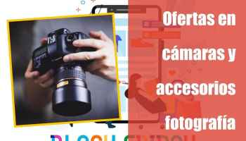 Ofertas Black Friday en cámaras y accesorios