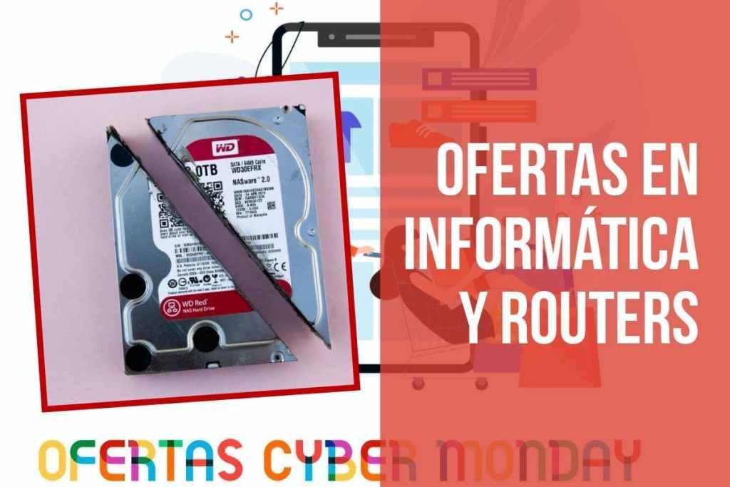 Ofertas en accesorios de informática y routers en el Fin de Semana del Cyber Monday
