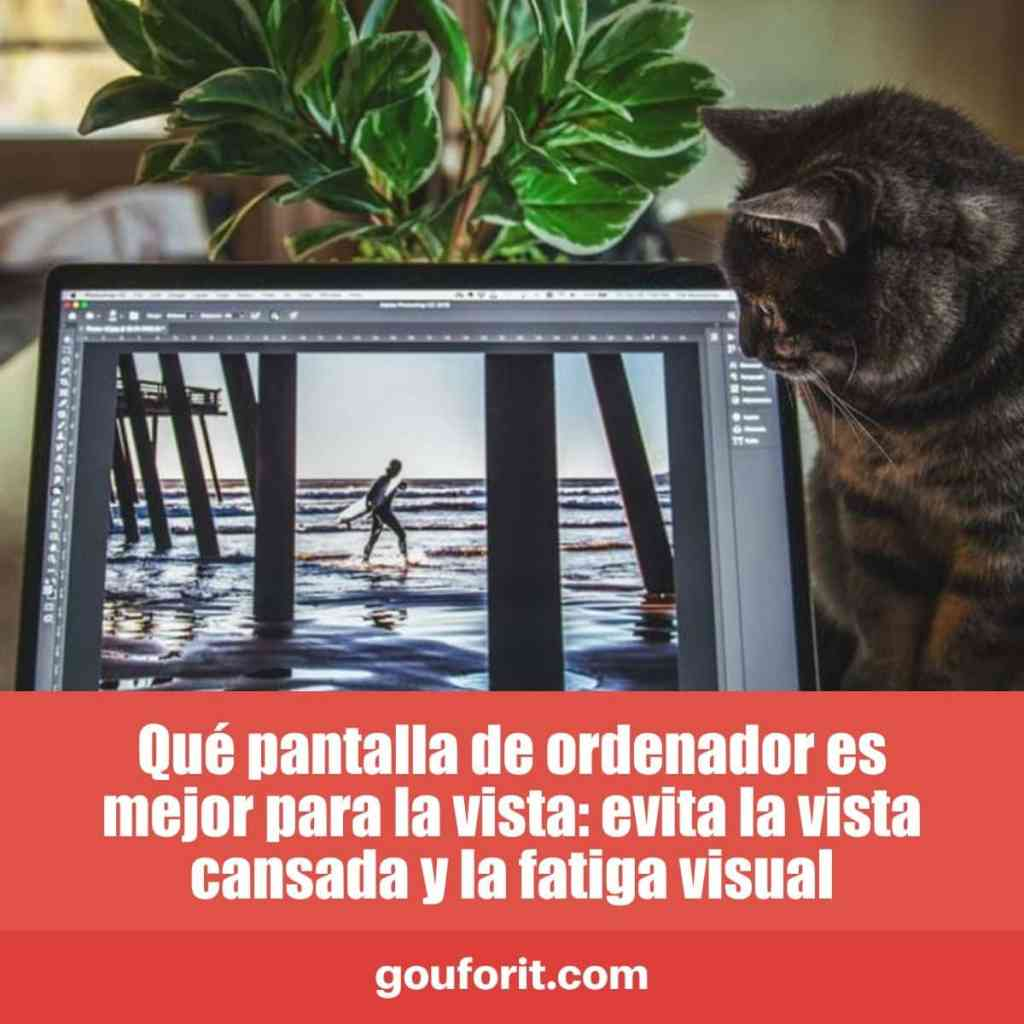 Qué pantalla de ordenador es mejor para la vista: evita la vista cansada y la fatiga visual