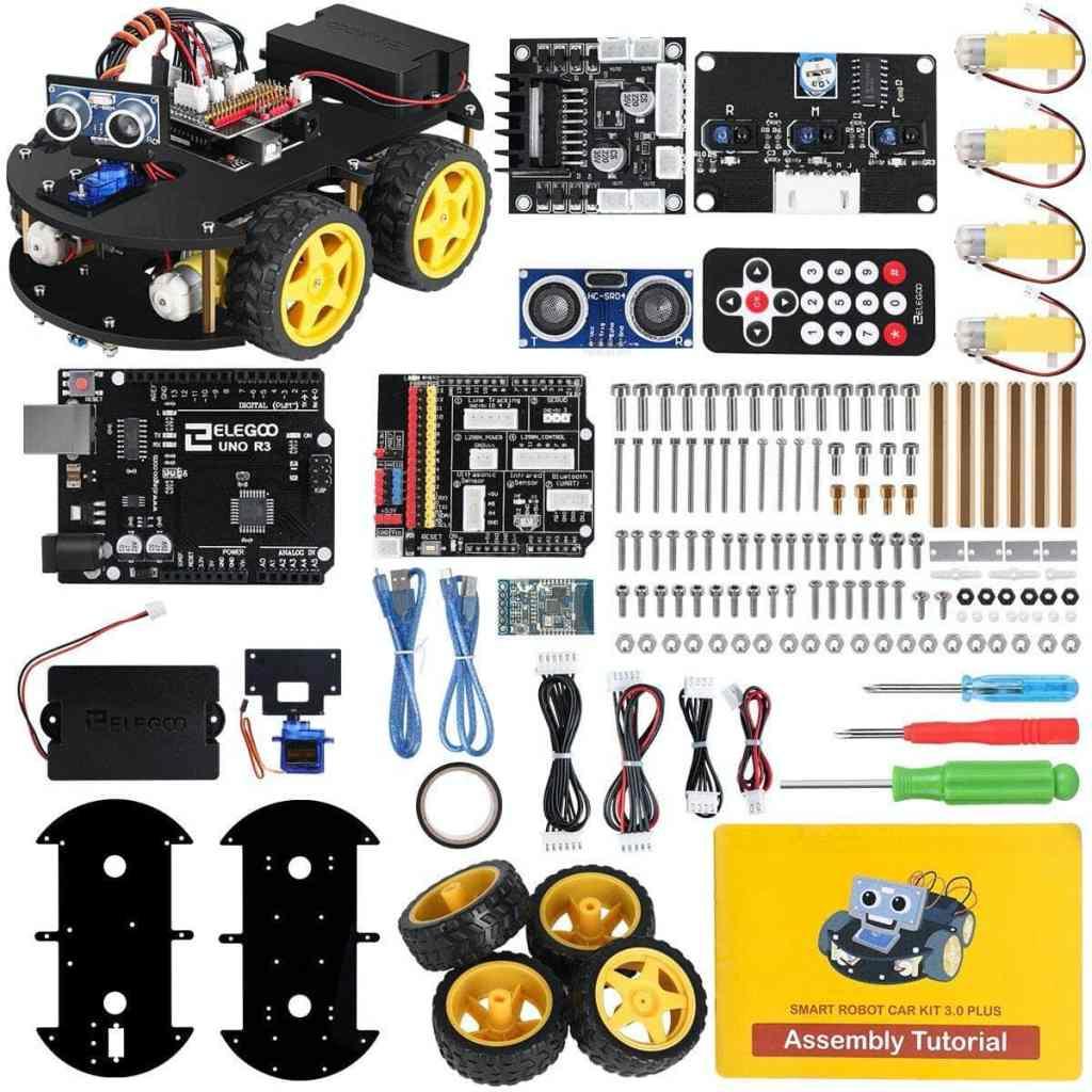 ELEGOO UNO R3 - Kit de Coche Robot Inteligente V3.0
