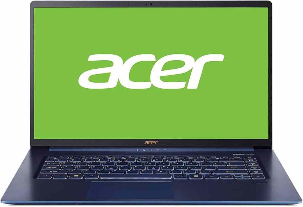 "Acer Swift 5 | SF515-51T-52YA - Portátil Ultrafino 15.6"" FHD IPS multitáctil"