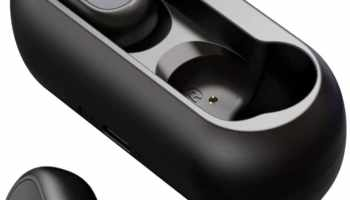 HOMSCAM - Auriculares inalámbricos QCY Bluetooth
