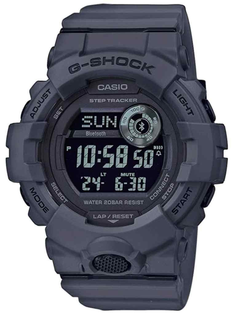 Casio G-Shock GBD-800UC-8ER: el reloj militar con bluetooth que necesitas