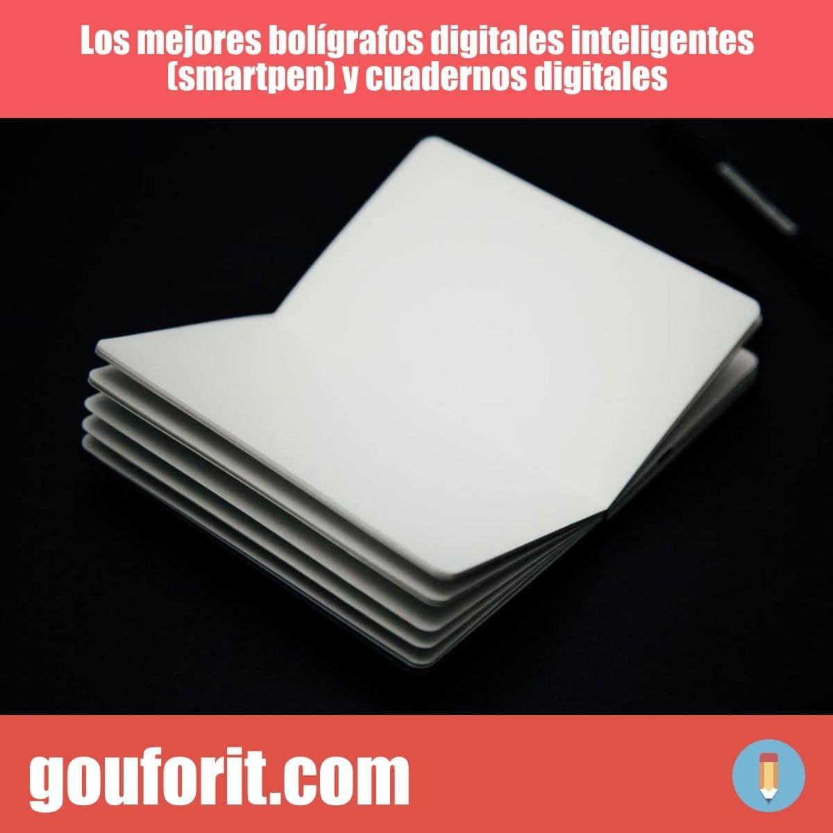 Los mejores bolígrafos digitales inteligentes (smartpen) y cuadernos digitales