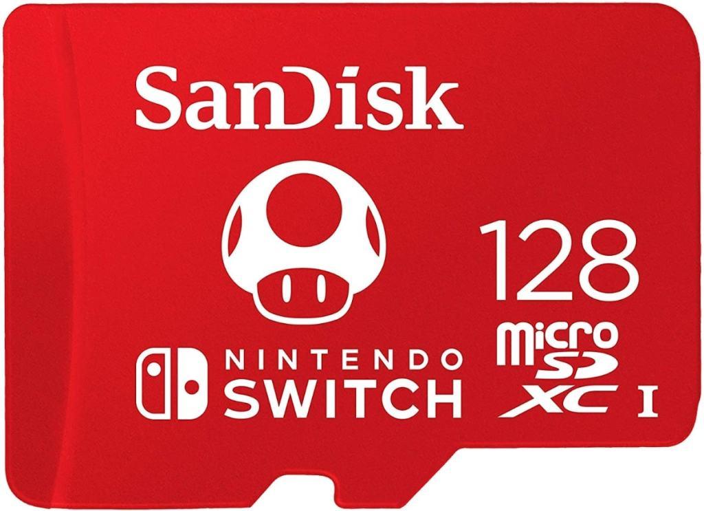 SanDisk - Tarjeta microSDXC de 128GB para Nintendo Switch
