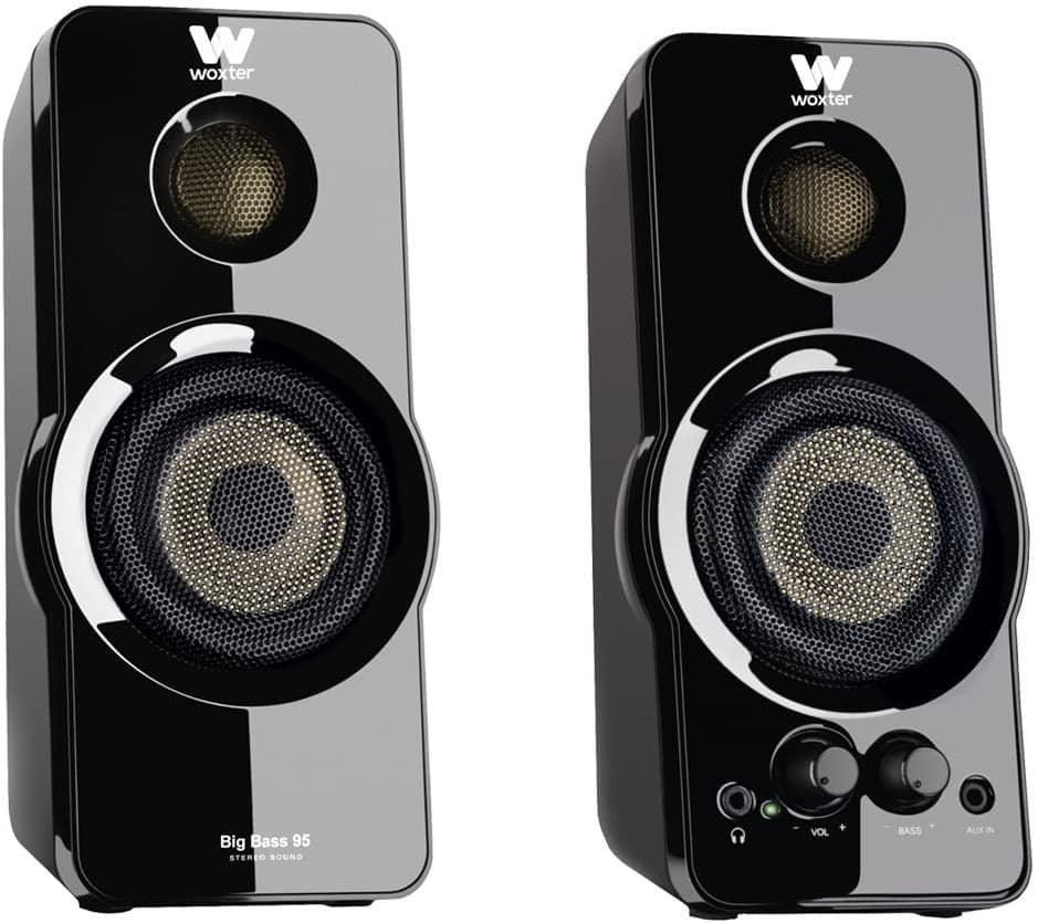 Woxter Big Bass 95 - Altavoces Multimedia Estéreo