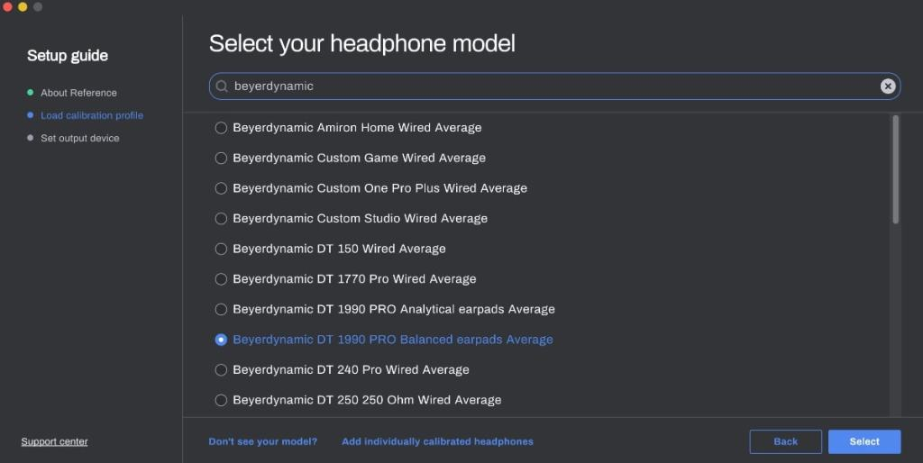 reference 4 sonarworks Instalacion: auriculares o altavoces