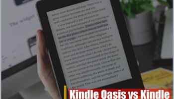 Kindle Oasis vs Kindle Paperwhite: ¿Debes cambiar de eReader?