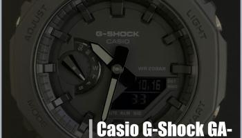 Casio G-Shock GA-2100 Casioak - Review y opinión