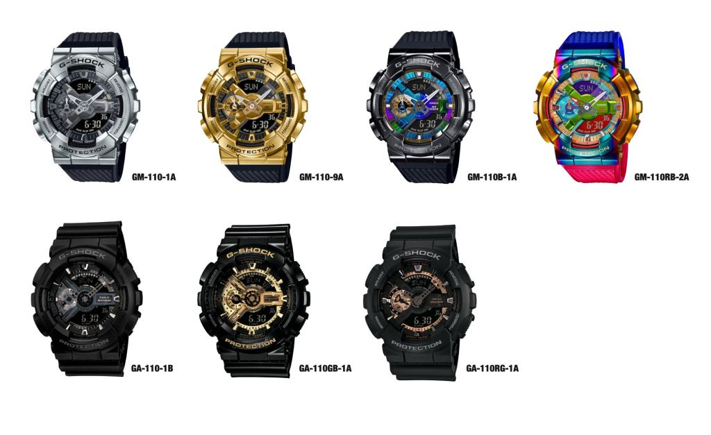 Casio G-SHOCK 110 series