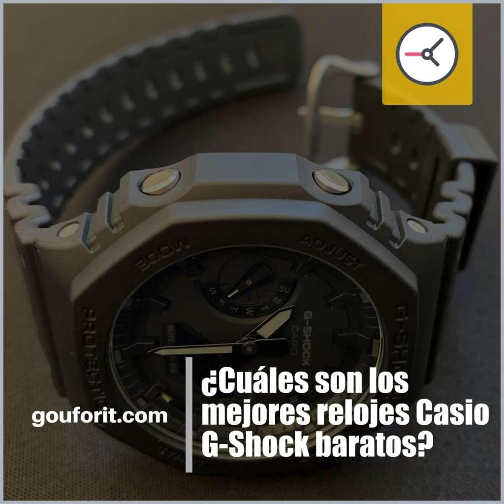 Los mejores relojes Casio G-Shock baratos