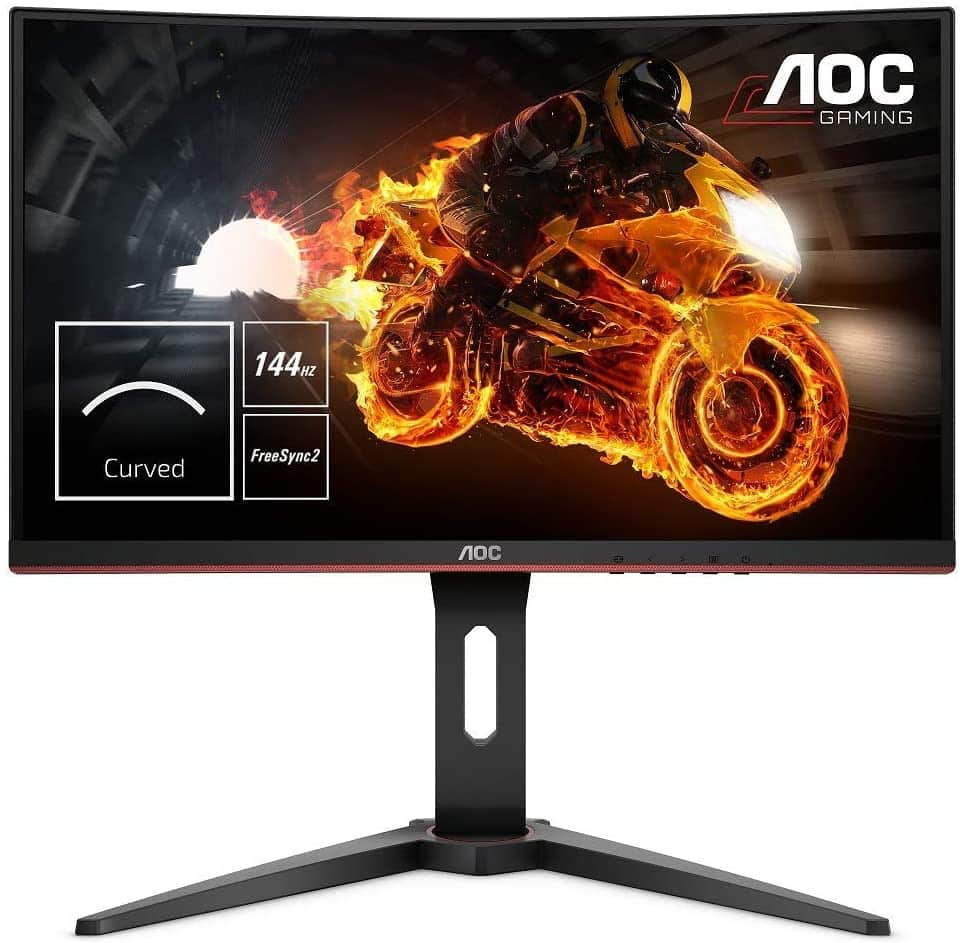 "AOC C24G1 - Monitor gaming curvo sin marcos de 24"" Full HD e-Sports"