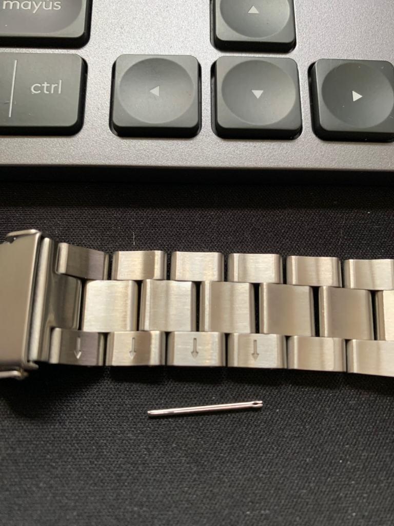 Casio Edifice EF-527D-1AVEF: ajustar eslabones y cadena