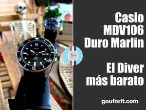 Casio MDV106 Duro Marlin - Review del Diver más barato